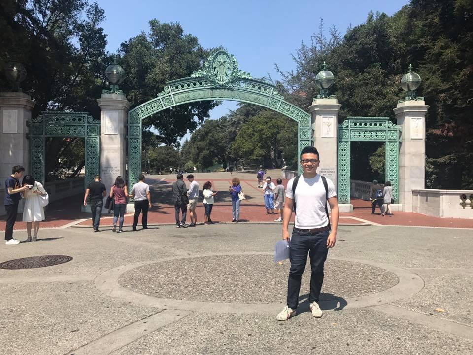 Marcus at UC Berkeley